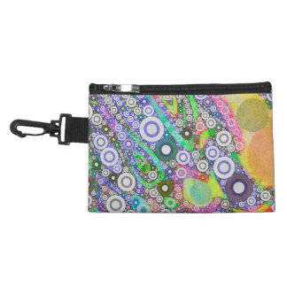 Retro Abstract Circle Pattern Accessories Bags