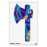 Retro Abstract Funky Swirl Ax Room Sticker