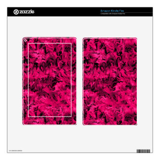 Retro Abstract Magenta Pink Decal For Kindle Fire