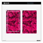 Retro Abstract Magenta Pink Skins For Kindle Fire