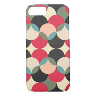 Retro Abstract Pattern iPhone 8/7 Case