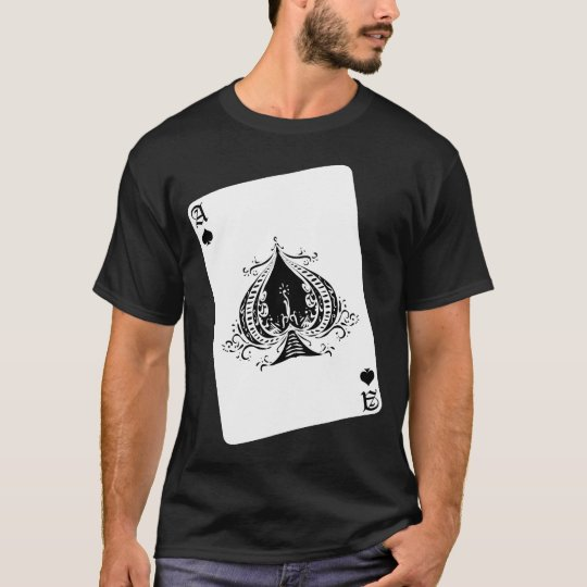 Retro Ace of Spades T-Shirt