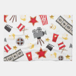 Retro Acting Movies Theatre/Theater Kitchen Towel