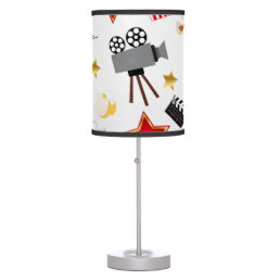 Retro Acting Movies Theatre/Theater Table Lamp