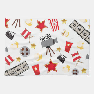 Retro Acting Movies Theatre/Theater Towel