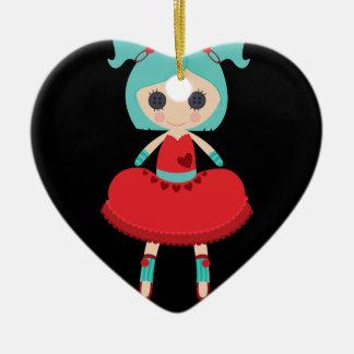 Retro Adorable Rag Doll Christmas Tree Ornaments