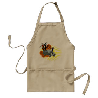 Retro Adventure Adult Apron