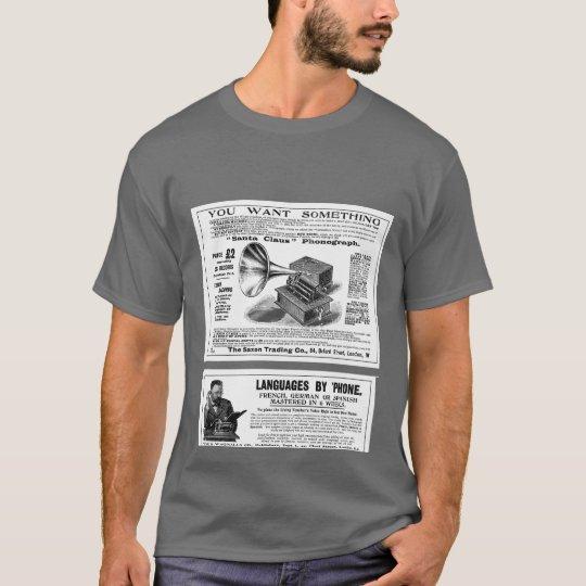 Retro Advertisments T-Shirt