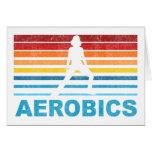 Retro Aerobics Card
