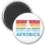 Retro Aerobics Magnet