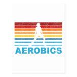 Retro Aerobics Postcard