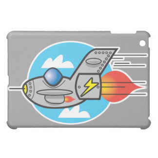 retro aeroplane jet iPad mini case