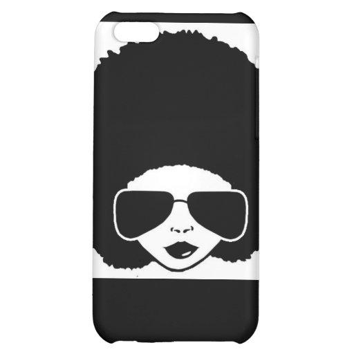 Retro Afro iphone4 case iPhone 5C Case