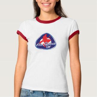 Retro AGUK Logo - Women's White Tee