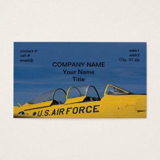 Retro Air Force Business Card