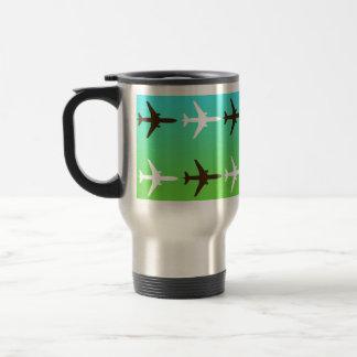 Retro Airplaine Travel Mug