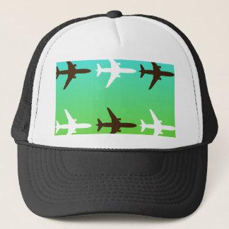 Retro Airplaine Trucker Hat