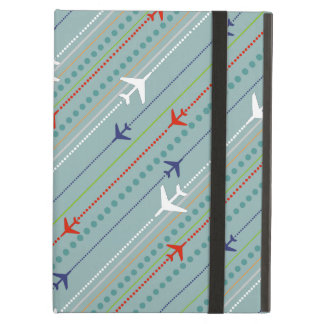 Retro Airplane Pattern iPad Air Case
