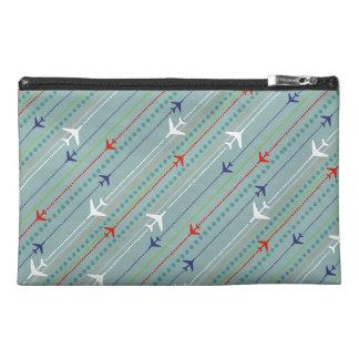 Retro Airplane Pattern Key Travel Accessory Bag