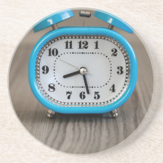 Retro Alarm Clock Drink Coaster