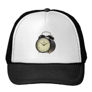 Retro alarm clock trucker hat