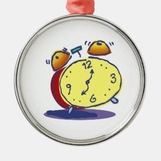 Retro Alarm Clock Ornament