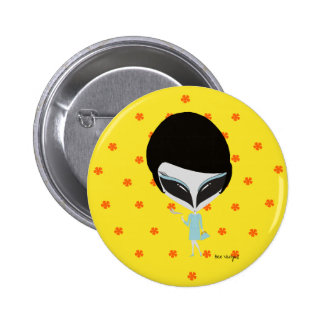 Retro Alien Button