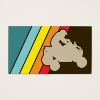 retro all-terrain vehicles business card
