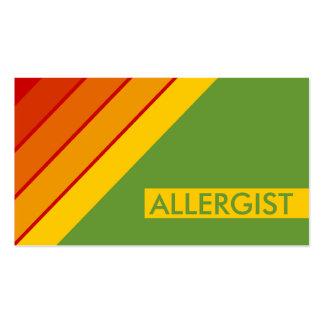retro ALLERGIST Business Card