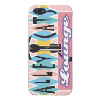 retro alley cats lounge sign case for iPhone SE/5/5s