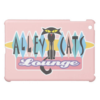 retro alley cats lounge sign iPad mini cover