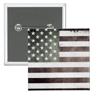Retro American Flag Button