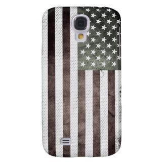 Retro American Flag Galaxy S4 Case