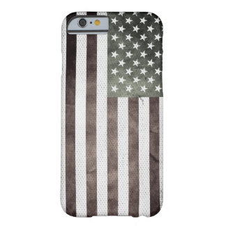 Retro American Flag Barely There iPhone 6 Case