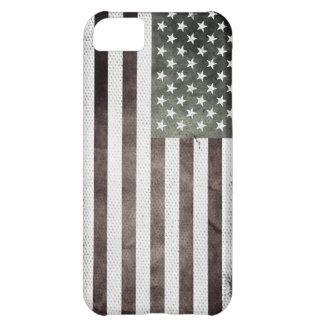 Retro American Flag Case For iPhone 5C