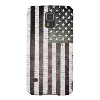 Retro American Flag Galaxy S5 Cover