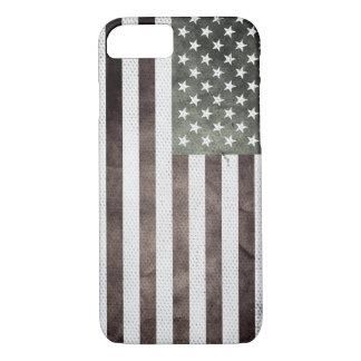 Retro American Flag iPhone 7 Case