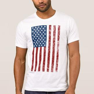 Retro American Flag Obama 2012  T Shirt