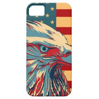 Retro American Patriotic Eagle Flag iPhone SE/5/5s Case