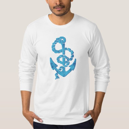 Retro Anchor with Rope T-Shirt