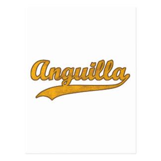 Retro Anguilla Postcard