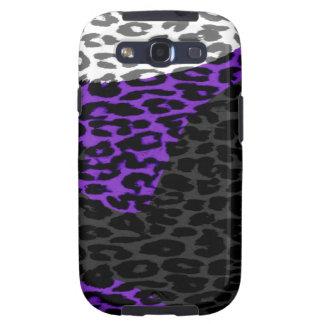 Retro animal print fur skin of leopard samsung galaxy s3 covers