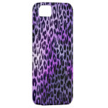 Retro animal print texture of leopard iPhone 5 cover