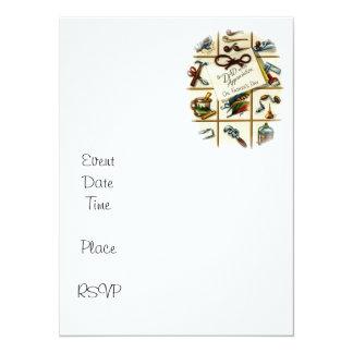 Retro Appreciate Your Dad 5.5x7.5 Paper Invitation Card