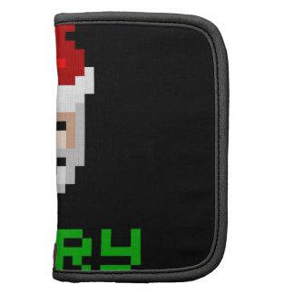 Retro arcade pixel art Santa Planner