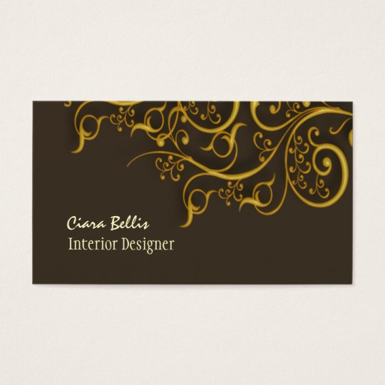 Retro Architectural Salvage business cards