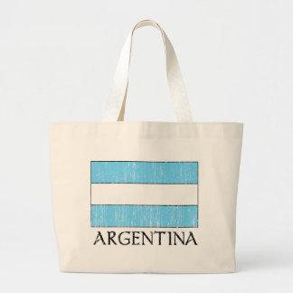 Retro Argentina Flag Bag