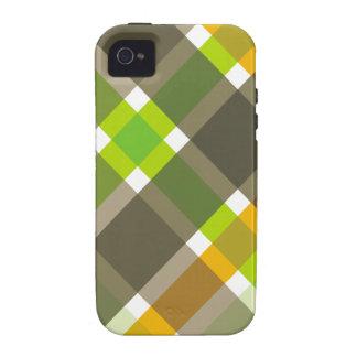 Retro Argyle iPhone Case iPhone 4 Cover