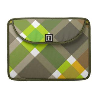 Retro Argyle Laptop Case