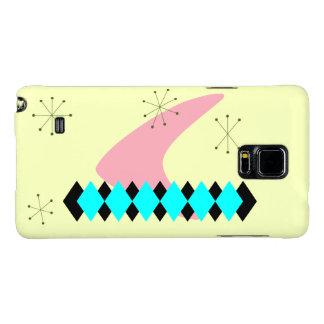 Retro Argyle Mid Century Modern Galaxy Note 4 Case